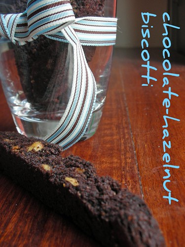 chocolate-hazelnut biscotti | by awhiskandaspoon