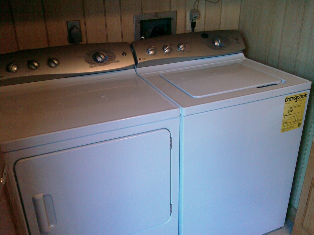 Ge Profile washer and dryer User manual