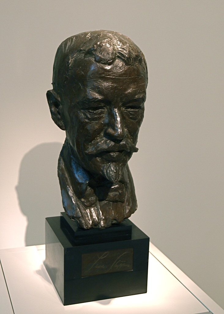 Bust Of Lincoln Steffens National Portrait Gallery Flickr