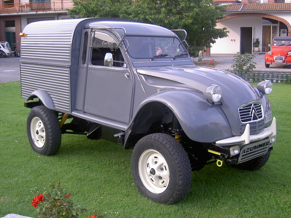 citroen 2cv azu defender td90 azummer flickr. Black Bedroom Furniture Sets. Home Design Ideas