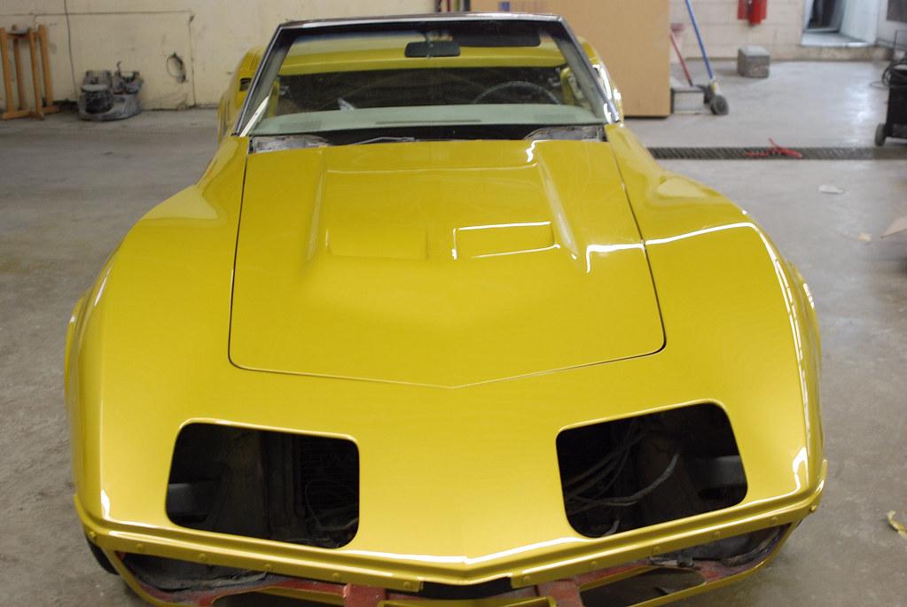 1971 Corvette Quot War Bonnet Yellow Quot Csautopaint Flickr