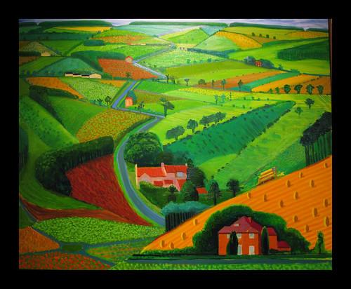 David Hockney Paintings For Sale