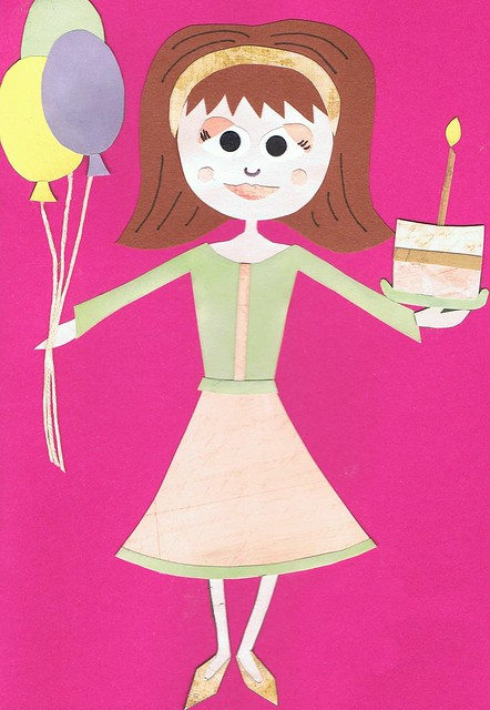 Birthday Illustration Cakes