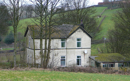 Old Station-master's house, Queensbury Station