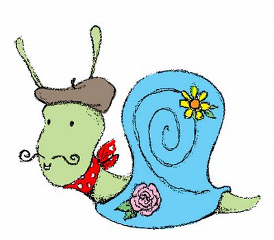French snail ittybittybirdy flickr - Clipart escargot ...