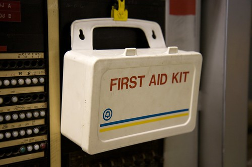 First aid kit | by Marcin Wichary