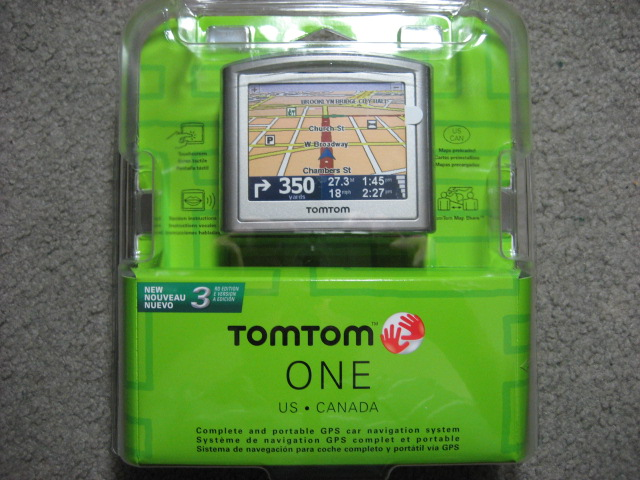 New tomtom one 3rd edition gets map share, software update.