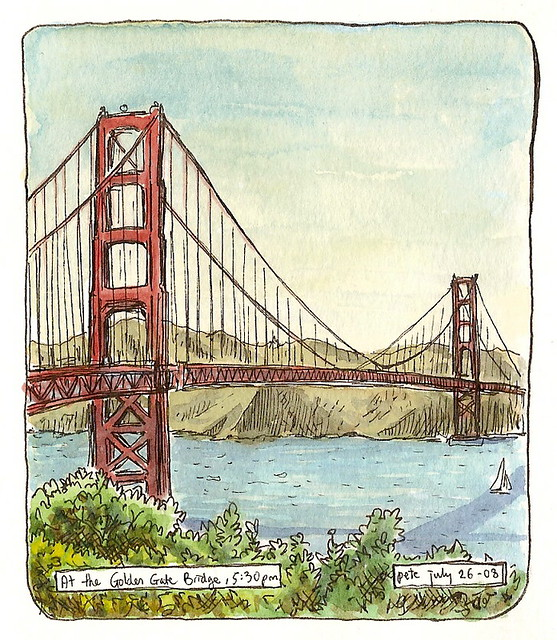 The Golden Gate Bridge After Much Meticulous Planning I