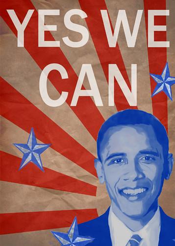 Barack Obama - Yes We Can   Barack Obama print. Available ...