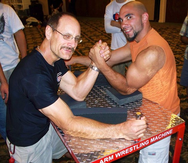 Allen Fisher arm wrestling table | Salt Lake City ...