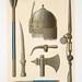 armes de Toman-Bay - ensembles et détails (XVe. siècle)