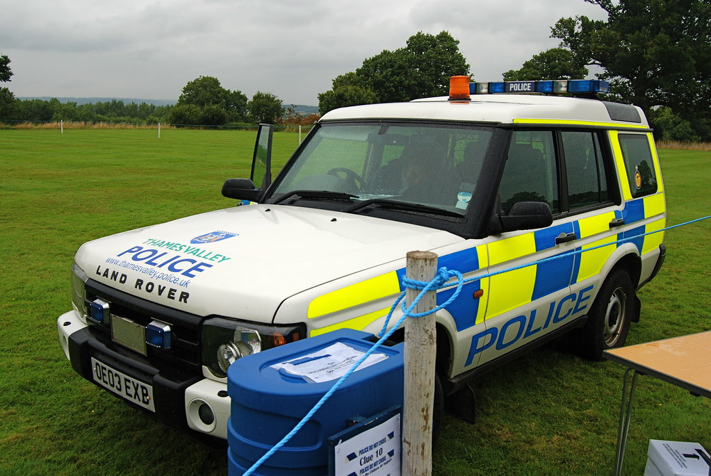 Land Rover Hunt Valley >> Thames Valley Police | This is a Land Rover Discovery, OE03 … | Flickr