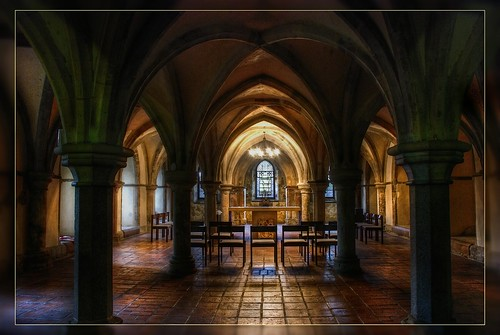 rochester cathedral-the crypt | by stevekeat images best viewed large