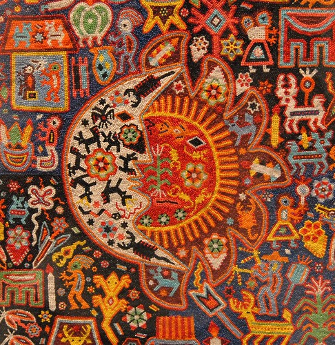 Huichol Sun and Moon | Flickr - Photo Sharing!