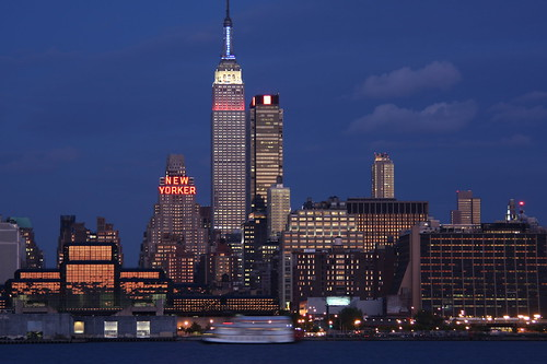 New York City skyline with Empire State Building | by meironke