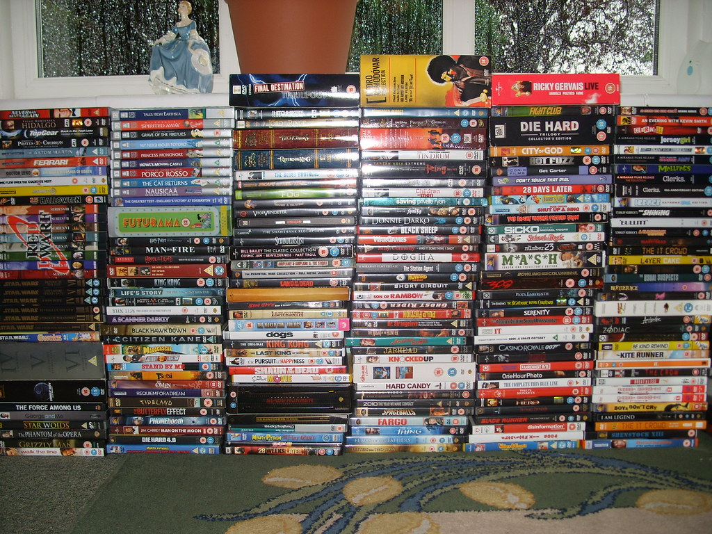 Where Well Be >> DVD collection | Well, it seemed about time I updated the ph… | Flickr