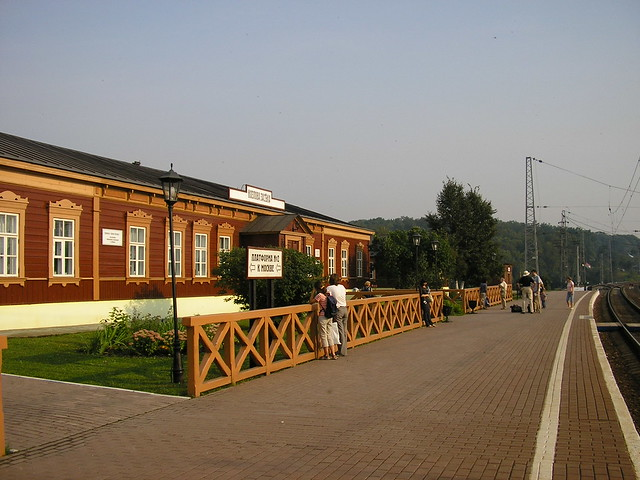 Станция Козлова Засека by khawkins33