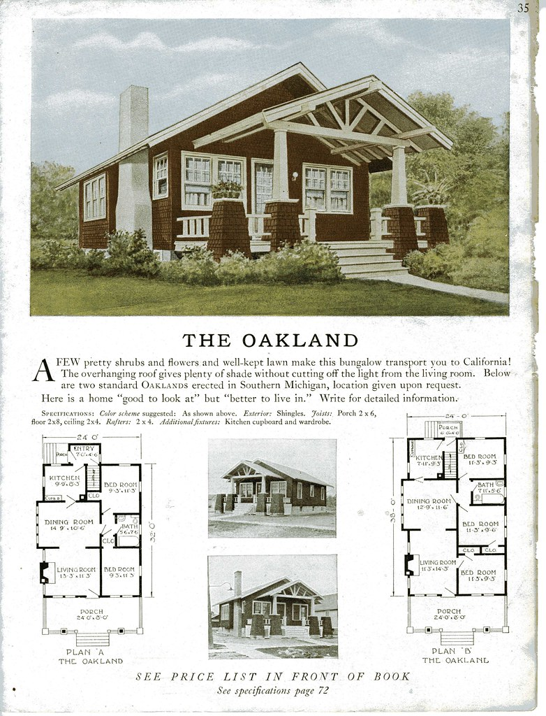Sterling Kit House The Oakland Cute Little Shingled