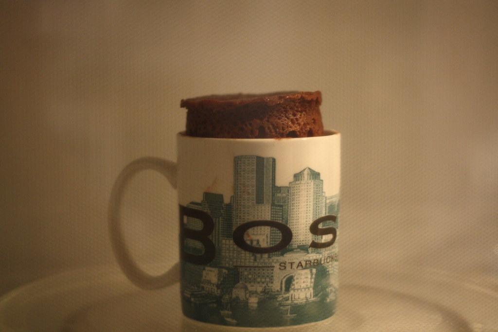 Microwave Cake Mug Without Egg