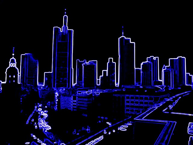 skyline sign neon - photo #15