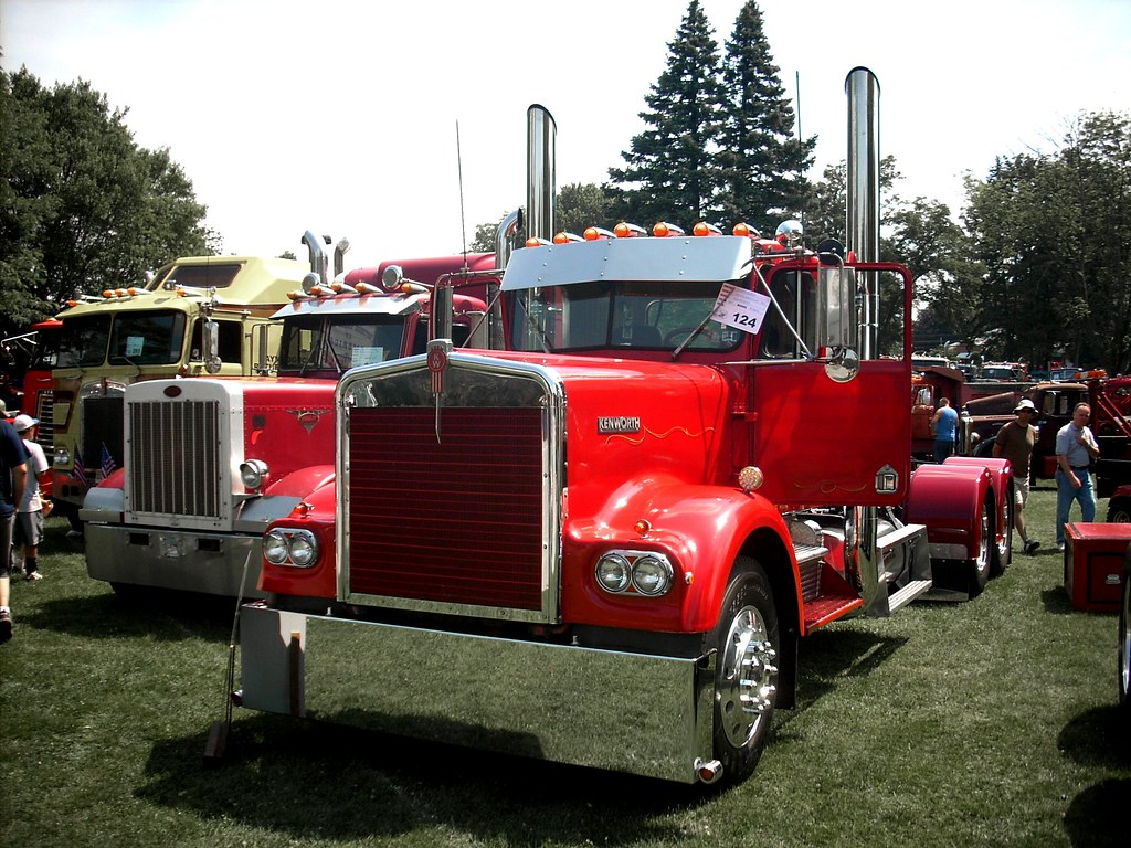 1977 Kenworth W900A | Macungie Antique Truck Show, June ...