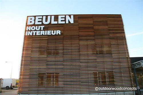 Gevelbekleding bedrijfsgebouwen beulen hout interieur flickr - Interieur gevelbekleding houten ...
