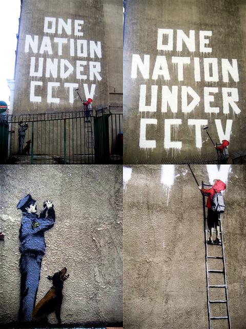 Banksy - One nation under CCTV | The lastest Bansky action i ...