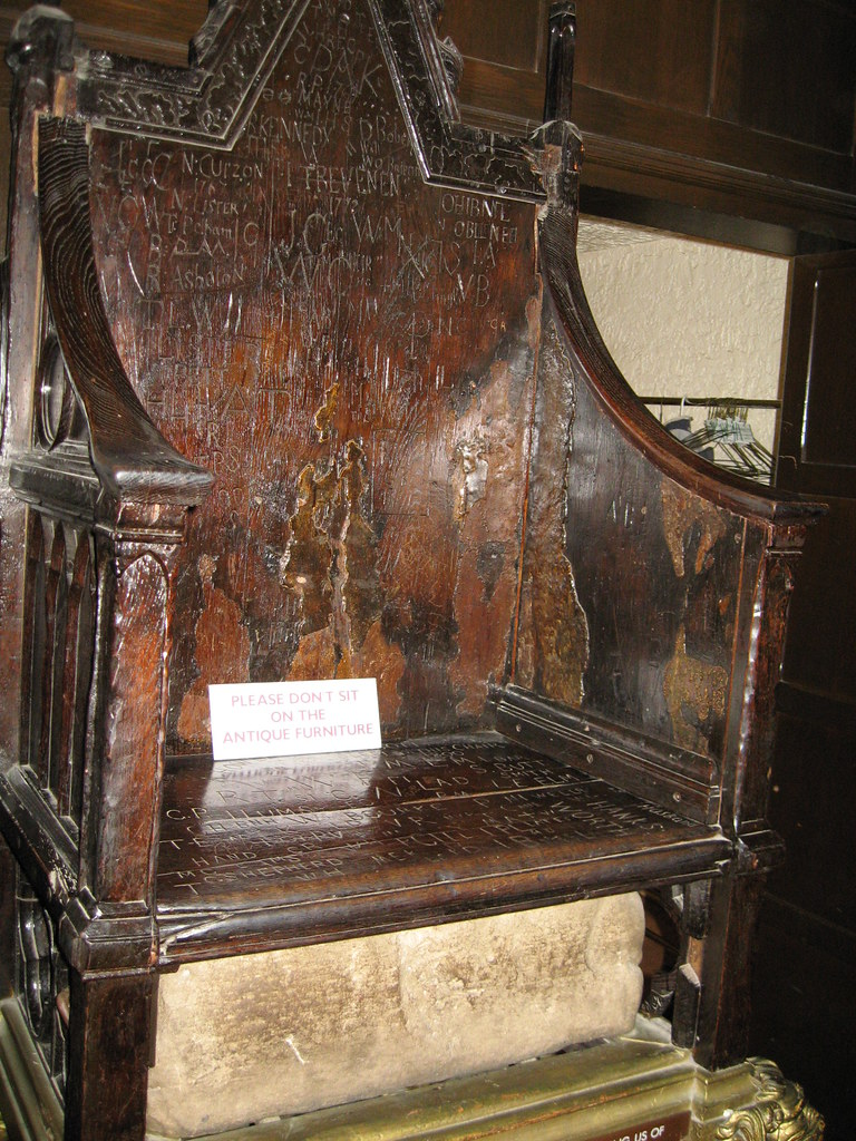 Coronation Chair and Stone of Scone. Westminster Abbey ... |Westminster Abbey Throne