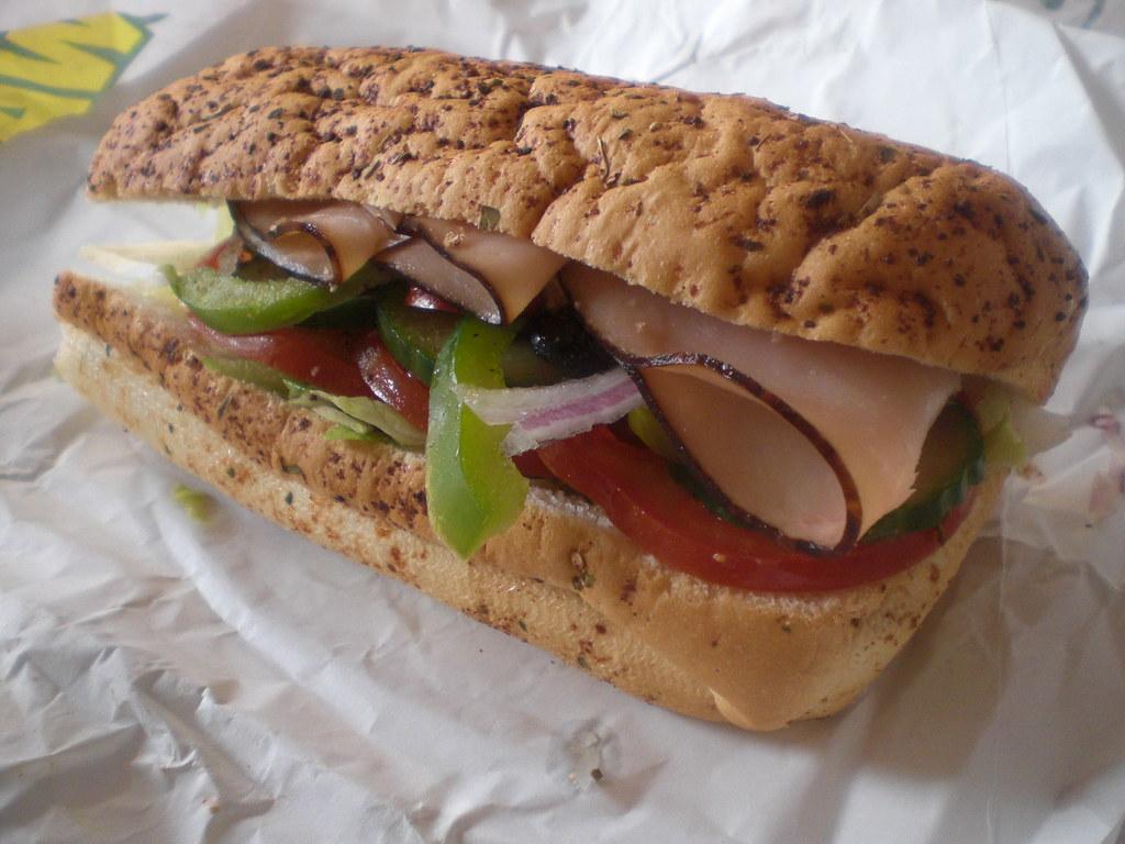 turkey breast sandwhich