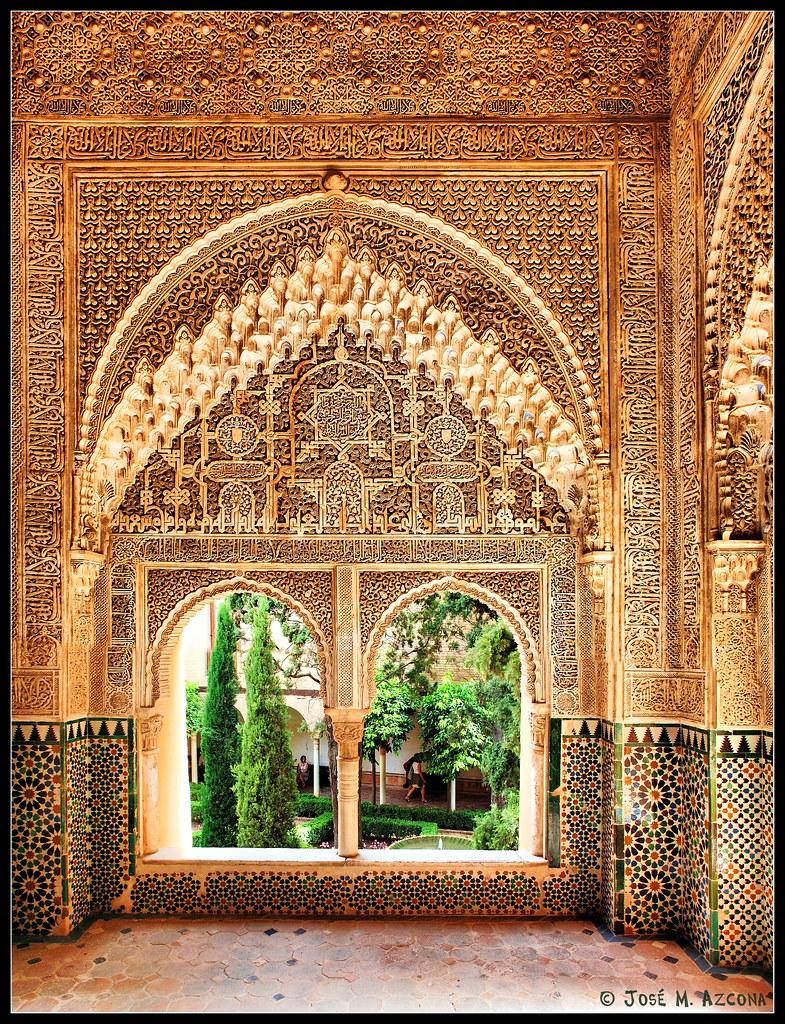 Granada mirador de daraxa 1354 1359 desde la sala de la - Spa en dos hermanas ...