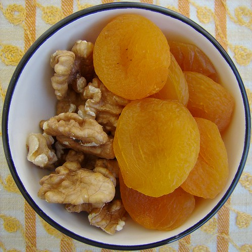 Walnuts and dried apricots | by one2c900d