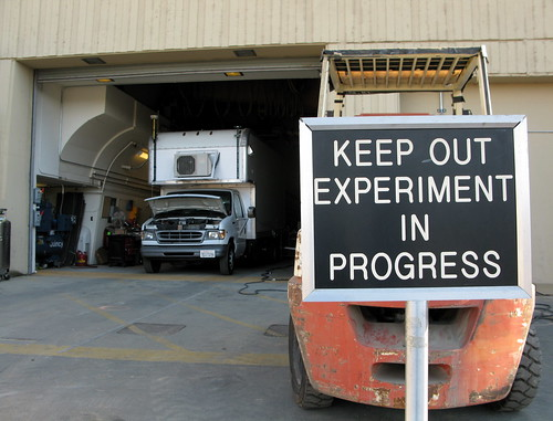 Keep Out Experiment In Progress | by jurvetson