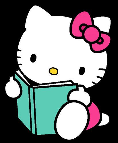 hello kitty reading | catastic4 | Flickr