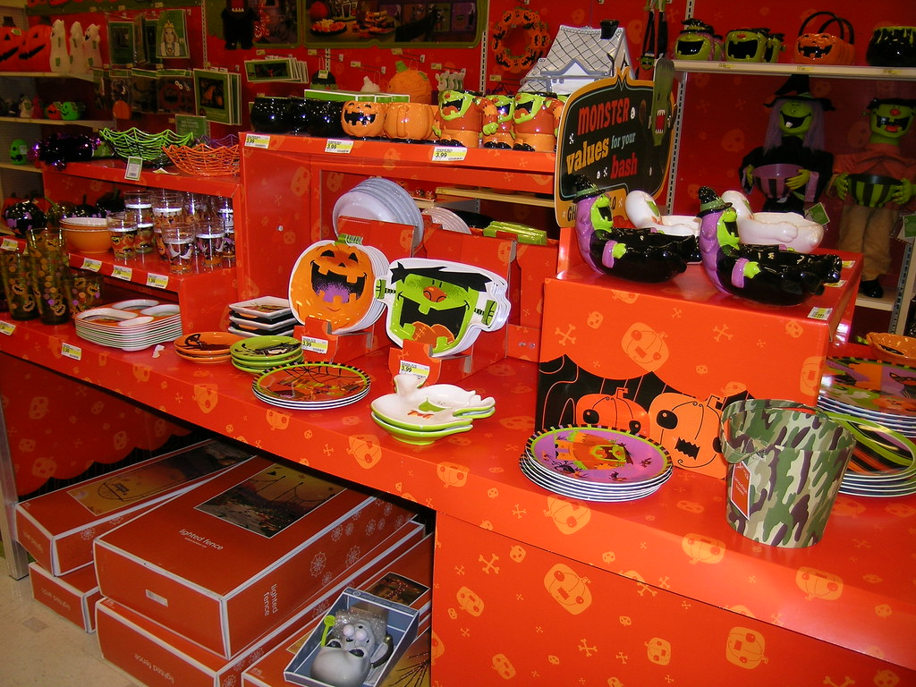 target halloween decor 2008 shawn robare flickr - Target Halloween Decor