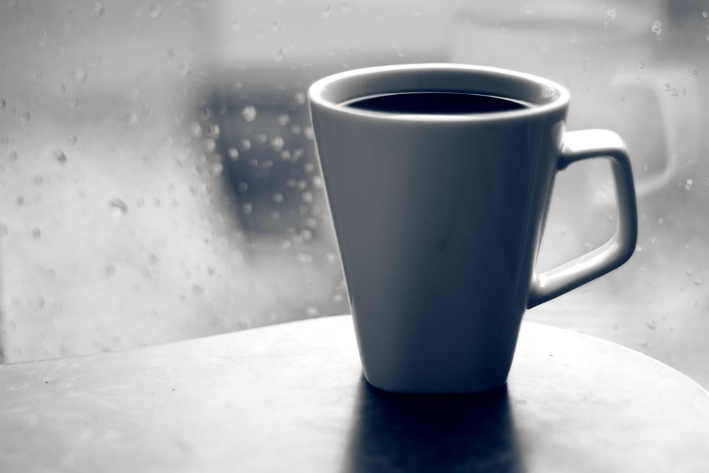 Hot Coffee on a rainy day | This photo didn't get the ...