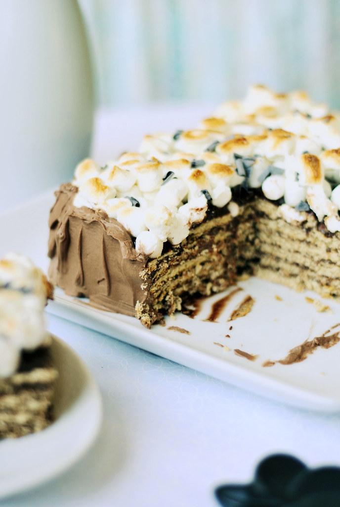 Refrigerator Cake Graham Cracker Recipe