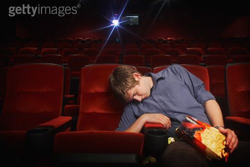 falling asleep during a movie it is not uncommon for