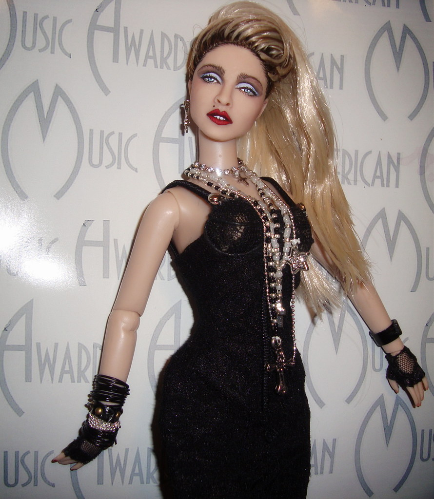 Madonna American music awards Barbie | Here she is! Madonna ...: https://www.flickr.com/photos/cyguy83/13013654214