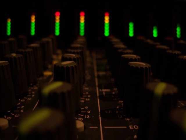 Soundboard Lights Up! | Althea Chang | Flickr