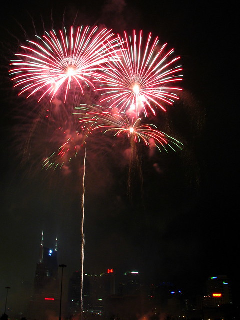 Nashville Fireworks on the 4th #15