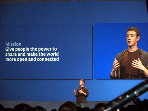 Mark Zuckerberg Presents at F8 2008 | by David Berkowitz