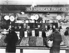 Produce stall at Pike Place Market, 1939 | by Seattle Municipal Archives
