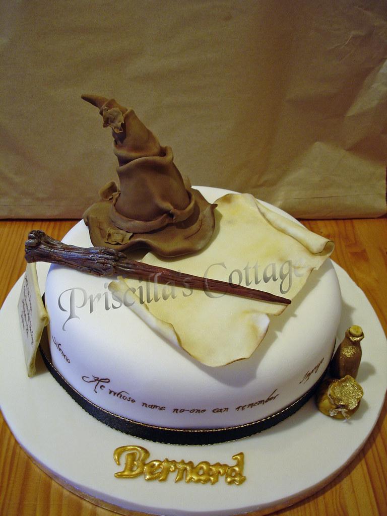 Cake Harry Potter Tumblr : Harry Potter Wizard Theme Cake A cake I made for a drama ...