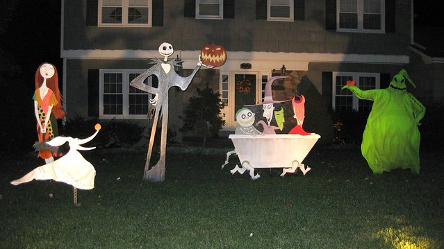 the nightmare before christmas decorations 08 w flash by bradyurk