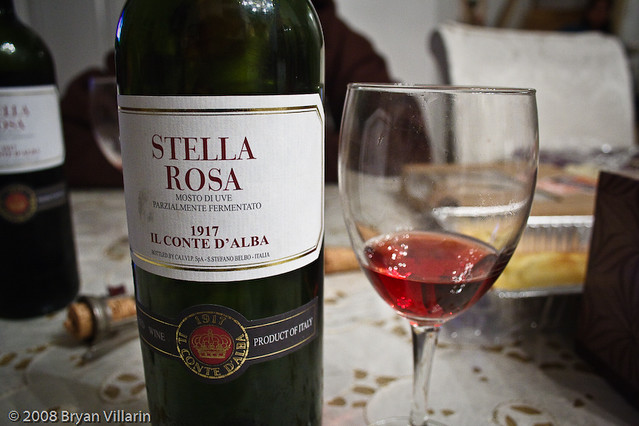 Stella Rosa 1917 Il Conte D Alba Im Not Much Of A Wine D Flickr