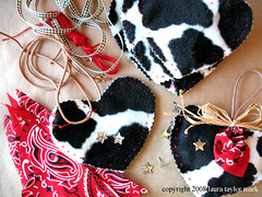 Cowgirl ornaments | by laura*tm