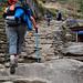 Jomson Trek - the horror of the stairs from Ghorepani