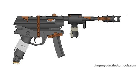 Post-Apocalyptic Handgun | A handgun thrown together from ol ... Apocalypse