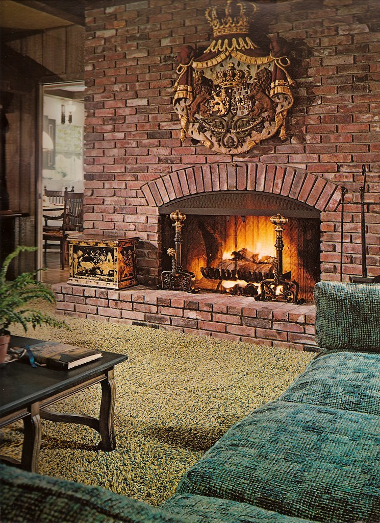1970s architectural digest living room katie kitsch flickr for Architecture 1970