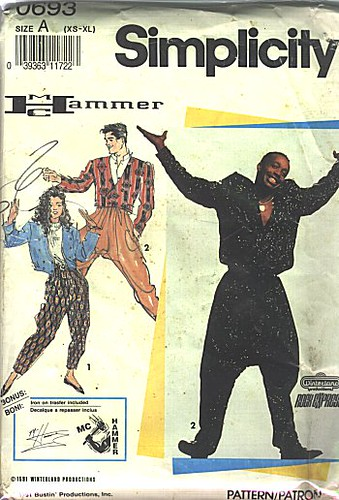 Simplicity MC Hammer Pants Pattern | by SA_Steve